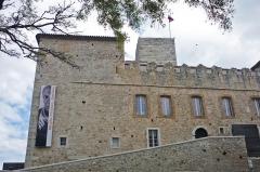 Château des Grimaldi, actuellement musée Picasso - Deutsch: Château Grimaldi in Antibes