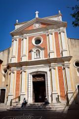Eglise paroissiale, chapelle Saint-Esprit et tour Grimaldi -  Antibes