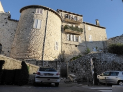 Enceinte gréco-romaine (restes) - English: Vieille ville, Antibes