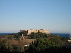 Fort-Carré -  Fort carré, Antibes (France)