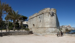 Remparts et demi-bastion 17 dit Fort Saint-André - English: bastion