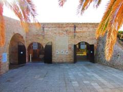 Remparts et demi-bastion 17 dit Fort Saint-André - English: archaeological museum Antibes