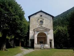 Chapelle Notre-Dame-des-Fontaines -  La Roya La Brigue Notre-Dame Fontaines Entree