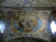 Chapelle Notre-Dame-des-Fontaines -  La Roya La Brigue Notre-Dame Fontaines Voute Fresque 08072015
