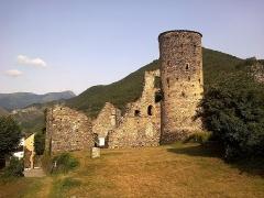 Chateau des Seigneurs (restes) -  La Roya La Brigue Chateau Lascaris