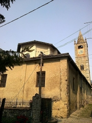 Eglise paroissiale Saint-Martin -  La Roya La Brigue Collegiale Saint-Martin Chevet 08072015