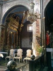 Eglise paroissiale Saint-Martin -  La Roya La Brigue Collegiale Saint-Martin Choeur Fauteuils