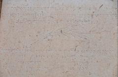 Chapelle de la Miséricorde dite chapelle des Pénitents Noirs - Français:   Cannes - Chapelle de la Miséricorde - Plaque commémorative du 6 décembre 1635