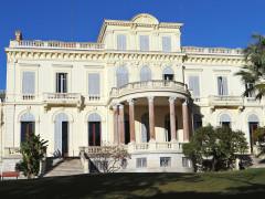 Villa Rothschild - Français:   Cannes - Villa Rothschild - Façade sud