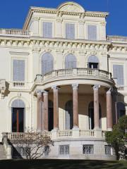 Villa Rothschild - Français:   Cannes - Villa Rothschild - Façade sud: partie centrale