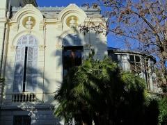 Villa Rothschild - Français:   Cannes - Villa Rothschild - Le jardin d\'hiver, côté sud