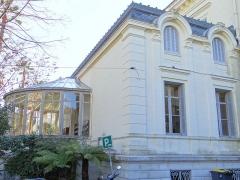 Villa Rothschild - Français:   Cannes - Villa Rothschild - Le jardin d\'hiver, côté nord