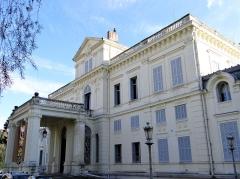 Villa Rothschild - Français:   Cannes - Villa Rothschild - Façade côté nord et entrée