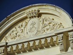 Villa Rothschild - Français:   Cannes - Villa Rothschild - Fronton côté sud avec les armes des Rothschild