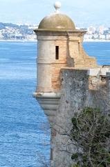 Fort, actuellement Musée de la Mer - Français:   Echauguette, Fort royal
