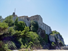 Fort, actuellement Musée de la Mer - Deutsch: Fort Royal auf der Insel Sainte-Marguerita mit dem Gefängnis der Eisernen Maske