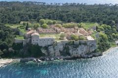 Fort, actuellement Musée de la Mer - Français:   Le Fort Royal de l\'île Sainte-Marguerite, Cannes