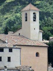 Eglise - Français:   Coursegoules - Église Sainte-Marie-Madeleine - Clocher