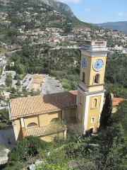 Eglise Notre-Dame de l'Assomption - English: The church Notre-Dame de l'Assomption in Eze (Alpes-Maritimes, France).