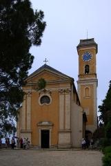 Eglise Notre-Dame de l'Assomption - Deutsch: Frankreich, Èze, Kirche Notre-Dame de l'Assomption (Mariä Himmelfahrt) , gebaut zwischen 1764 und 1772 nach Plänen von Antonio Spinelli
