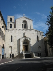 Cathédrale -  Cathedral of Grasse (France)