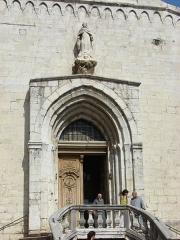Cathédrale -  Cathedrale Notre Dame du Puy, Grasse, Provence-Alpes-Côte d'Azur, France