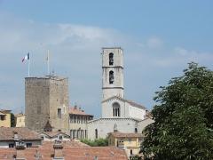 Cathédrale -  Cathédrale Notre-Dame-du-Puy de Grasse, Grasse