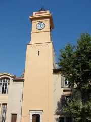 Eglise Saint-Laurent-de-Magagnosc -  The Clock Tower, Grasse, Provence-Alpes-Côte d'Azur, France