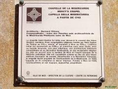 Chapelle de la Miséricorde -  Nice-Saleya. Chapelle de la Misericorde