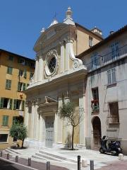Chapelle Sainte-Croix dite chapelle des Pénitents Blancs - Français:   Chapelle Sainte-Croix à Nice