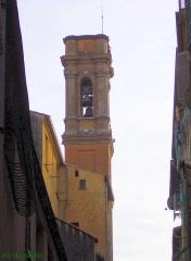 Chapelle Sainte-Croix dite chapelle des Pénitents Blancs -  Clocher de l'église Sainte-Croix