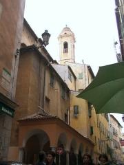 Chapelle Saint-Jaume ou Saint-Jacques-le-Majeur ou Saint-Giaume ou Sainte-Rita -  Bell tower of Église Sainte-Rita, Nice, France