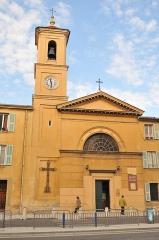Eglise Sainte-Hélène - Français:   Église Sainte-Hélène de Nice. Photo non retouchée.