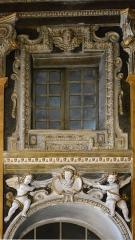 Eglise Saint-Jacques-le-Majeur dite du Gésu - Français:   Fenêtre située sur le côté de la nef à l\'Intérieur de l'Église Saint-Jacques-le-Majeur_Nice (Rue Droite dans le Vieux-Nice, Alpes-Maritimes, Sud de la France).