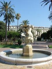 Fontaine des Phocéens dite des Tritons -  Jardin Albert 1er, Nice, Provence-Alpes-Côte d'Azur, France