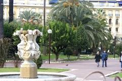 Fontaine des Phocéens dite des Tritons - English: Nice - Jardin Albert-1er - View NNW
