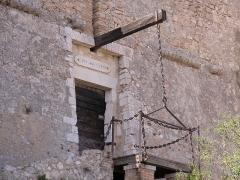 Fort du Mont-Alban -  Haupteingang des Fort du Mont Alban