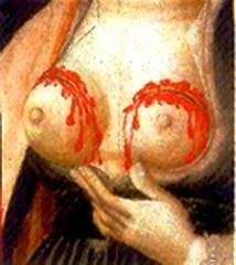Musée des Beaux-arts Jules Chéret - Français:   Les seins de sainte Agathe par Jacques Durandi