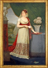 Musée Masséna -  English: Portrait of the Empress Joséphine (1763-1814)