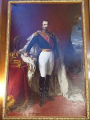 Musée Masséna - Nice (Alpes-Maritimes, France), sur la promenade des Anglais, la Villa (palais plutôt) Masséna, siège du musée du même nom. Dans le salon dit
