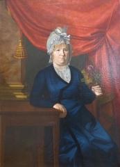 Musée Masséna - Nice (Alpes-Maritimes, France), sur la promenade des Anglais, la Villa (palais plutôt) Masséna, siège du musée du même nom. Anne Marie Rosalie Lamarre (1765-1829), fille d'un chirurgien d'Antibes, épouse d'André Masséna.