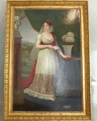 Musée Masséna - Nice (Alpes-Maritimes, France), sur la promenade des Anglais, la Villa (palais plutôt) Masséna, siège du musée du même nom. L'impératrice Joséphine par Antoine-Jean Gros en 1808.