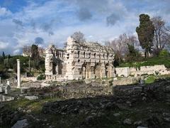 Thermes romains de Cimiez, dans le domaine de la villa Garin de Cacconata - English: Public baths of the ancient Roman town of Cemenelum in Nice.