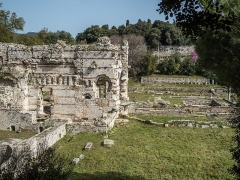 Thermes romains de Cimiez, dans le domaine de la villa Garin de Cacconata - English: Roman baths in Nice