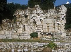 Thermes romains de Cimiez, dans le domaine de la villa Garin de Cacconata - English: The northern baths in Cemenelum (Cimiez) in Nice, France.