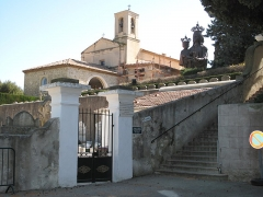 Chapelle de Saint-Hospice - English: Chapel Saint-Hospice in Saint-Jean Cap-Ferrat, France