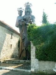 Chapelle de Saint-Hospice - English: Black Madonna of Saint-Jean-Cap-Ferrat