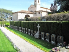 Chapelle de Saint-Hospice - English: Belgian military cemetery of the chapel Saint-Hospice in Saint-Jean Cap-Ferrat, Alpes-Maritimes, France