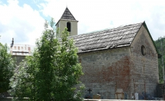 Eglise - Français:   Saint-Martin-d\'Entraunes - Eglise Saint-Martin