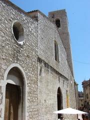 Eglise de la Conversion de Saint-Paul -  Eglise Collegiale, Saint Paul de Vence, Provence-Alpes-Côte d'Azur, France
